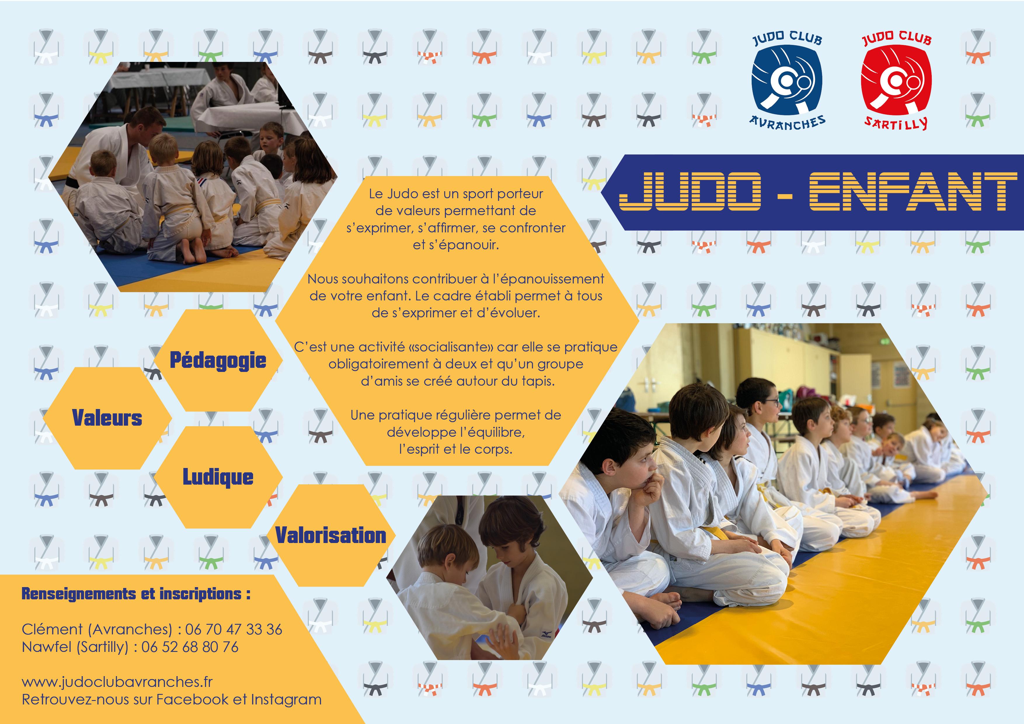 Découvrez nos activités : Judo, Baby Judo, Taïso, Ju-Jitsu