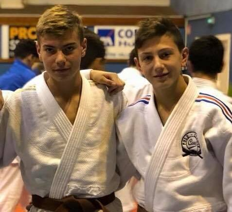 Mathis et Esteban